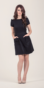 Cher Wool Mini Dress