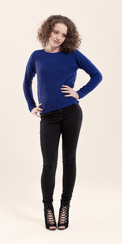 Side Zip Knit Jumper