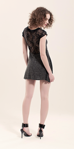 Jemima Lace Back Dress