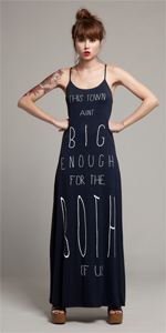 Navy Maxi &#39This Town&#39 Dress